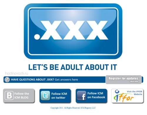 скриншот сайта sex.xxx