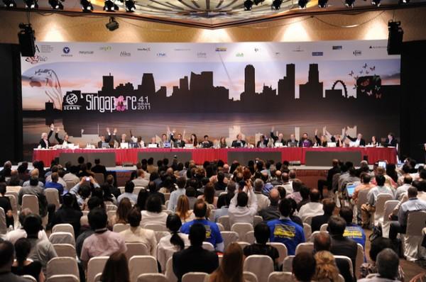 41-я конференция ICANN в Сингапуре - голосование