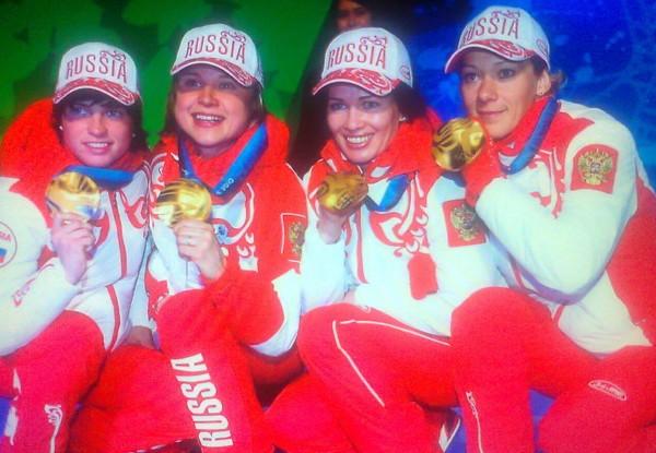 российская сборная по биатлону