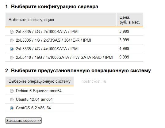 аренда выделенного сервера в Москве